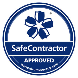 Image: Safe Contractor Approved Logo